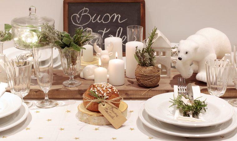 Idee per apparecchiare la tavola di Natale: nordica o tradizionale