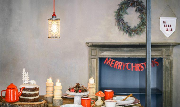 Idee per una tavola di Natale tutta nuova
