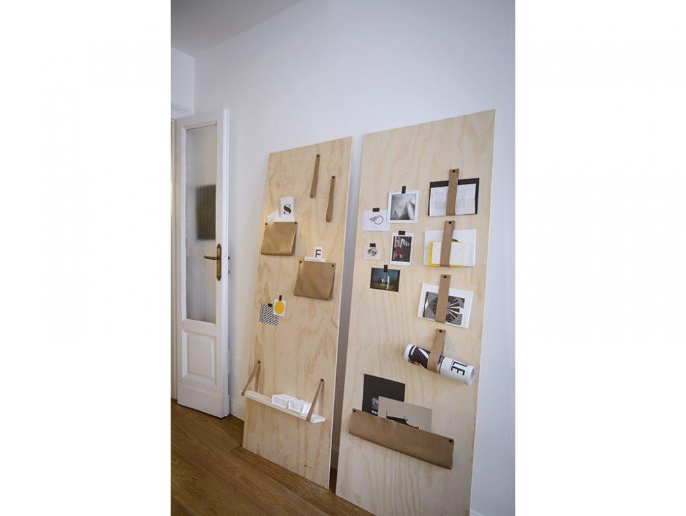 Come realizzare un pannello portaoggetti