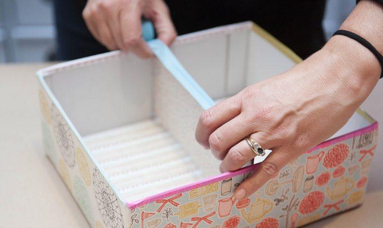 Riciclo creativo: realizzare una scatola portatutto