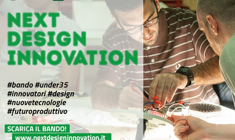 Next Design Innovation: bando per progettisti e innovatori under 35