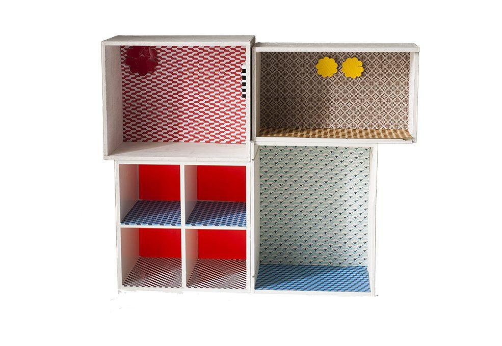 Mobili Per Casa Delle Bambole Fai Da Te : Una irresistibile casa delle bambole fai da te! casafacile