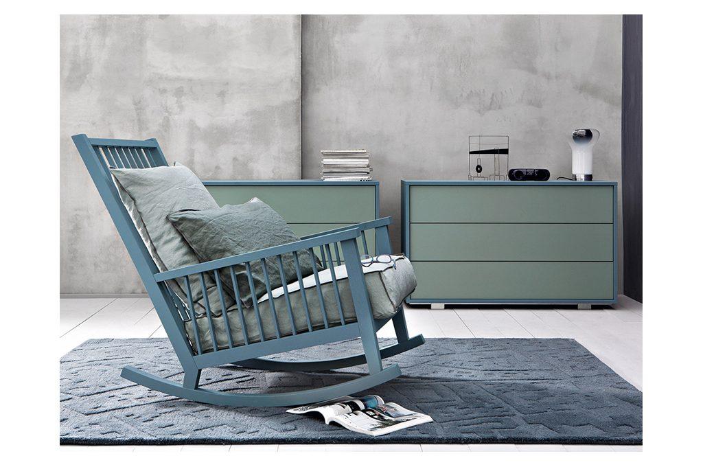 20 sedie a dondolo per coccolarti casafacile for Sedie a dondolo