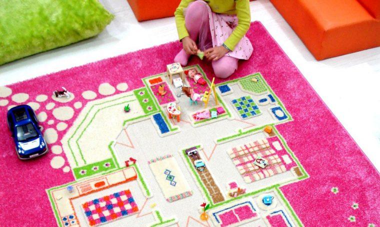 Il tappeto della cameretta è una planimetria 3D!