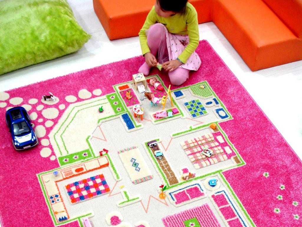 Il tappeto della cameretta una planimetria 3d casafacile for Planimetria 3d