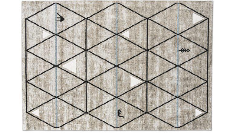 13 tappeti geometrici per dare carattere al soggiorno