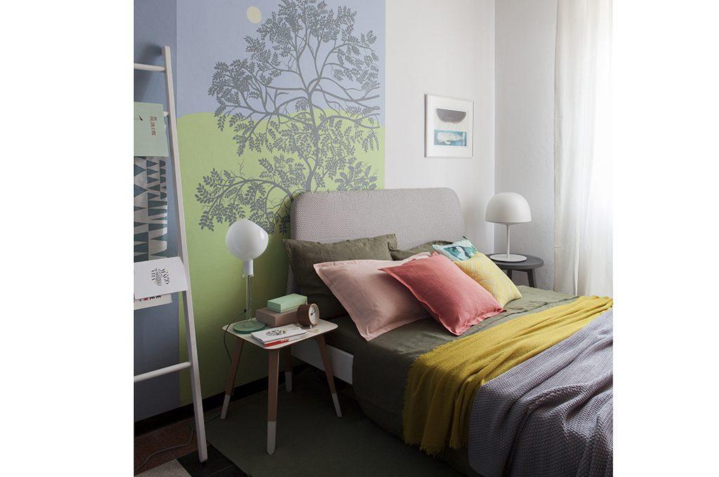 10 idee per la testiera del letto casafacile - Parete testiera letto ...