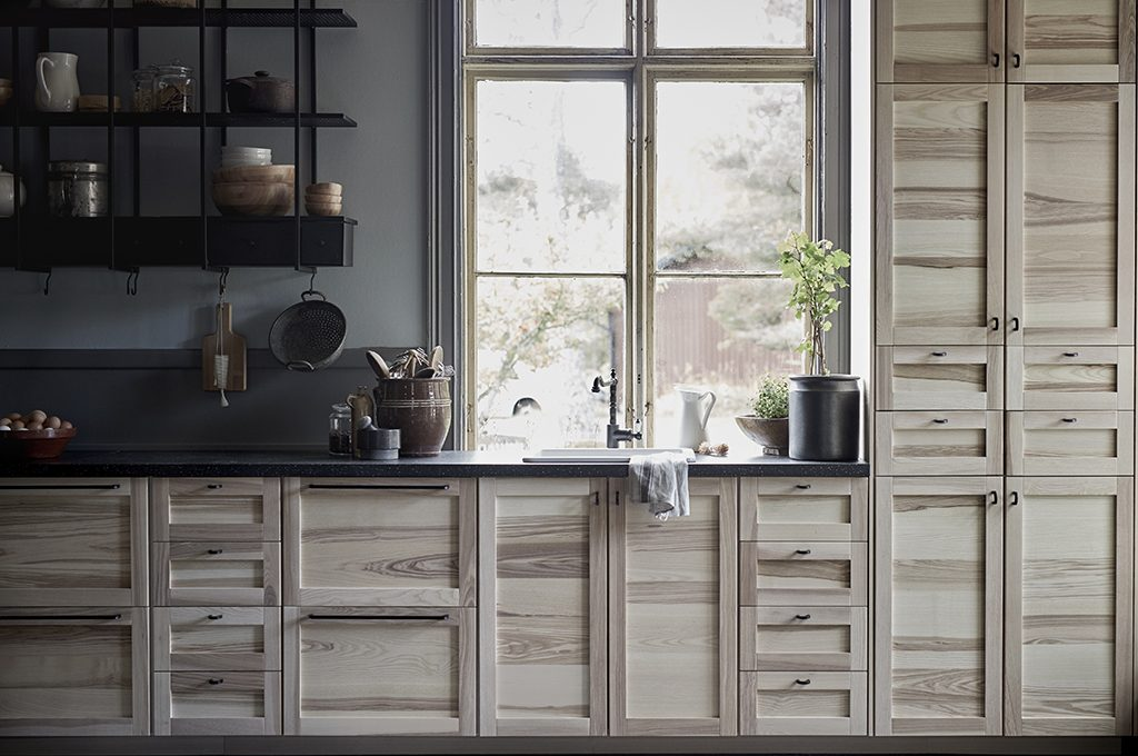 Ikea Pensili Da Cucina Metod Pensile Con Ripiani 2 Ante ...