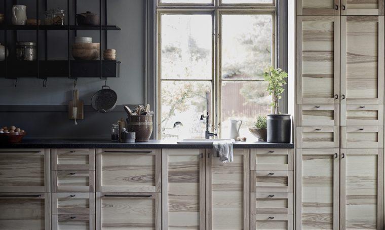 Novità Ikea: le nuove ante in legno per la cucina