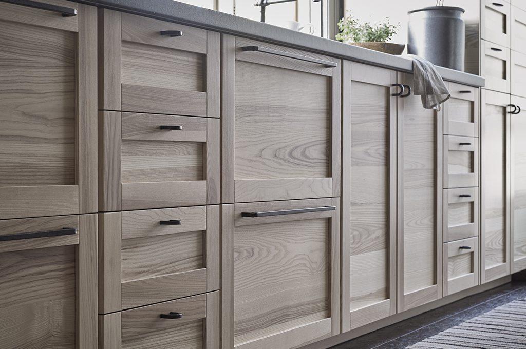 Novit ikea le nuove ante in legno per la cucina casafacile for Ante per cucina in muratura ikea