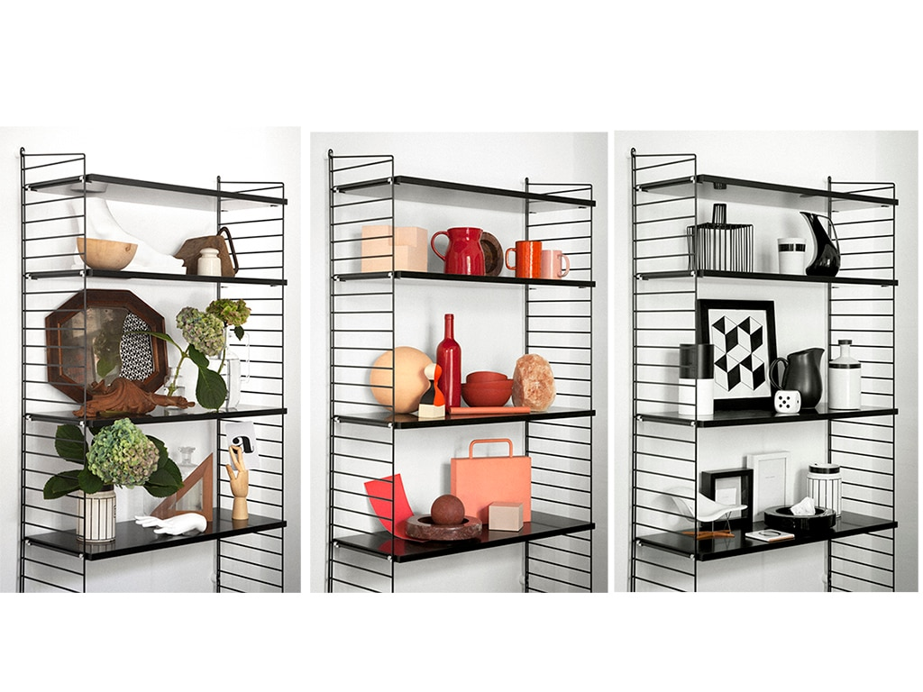 3 idee da copiare per riempire mensole e librerie casafacile for Idee mensole cameretta