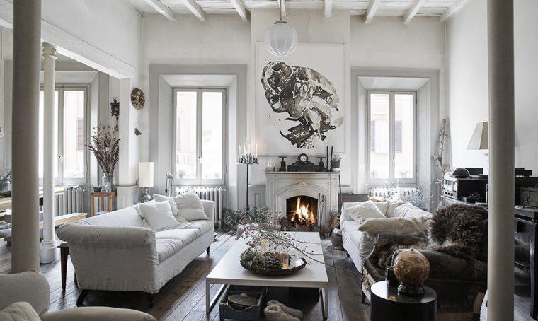 Una casa d'epoca in stile classico con brio