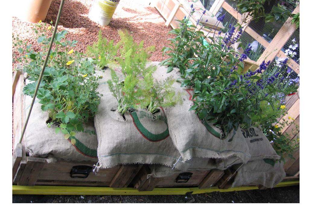 La natura nel sacco casafacile - Sacchi di terra per giardino ...