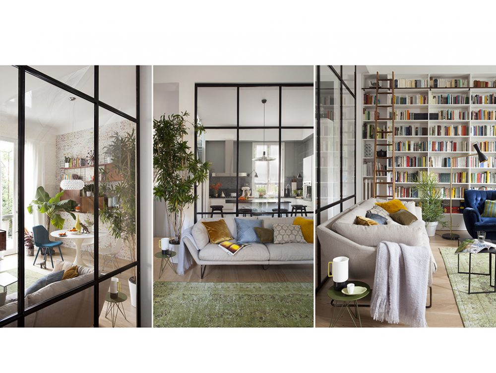 Dividere gli spazi (per… unirli!) con una parete vetrata