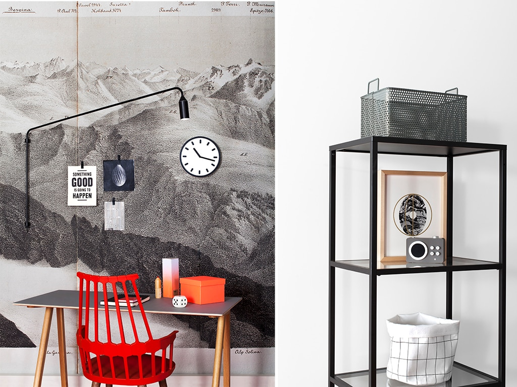 5 carte da parati con paesaggi in bianco e nero casafacile for Arredare casa con carta da parati
