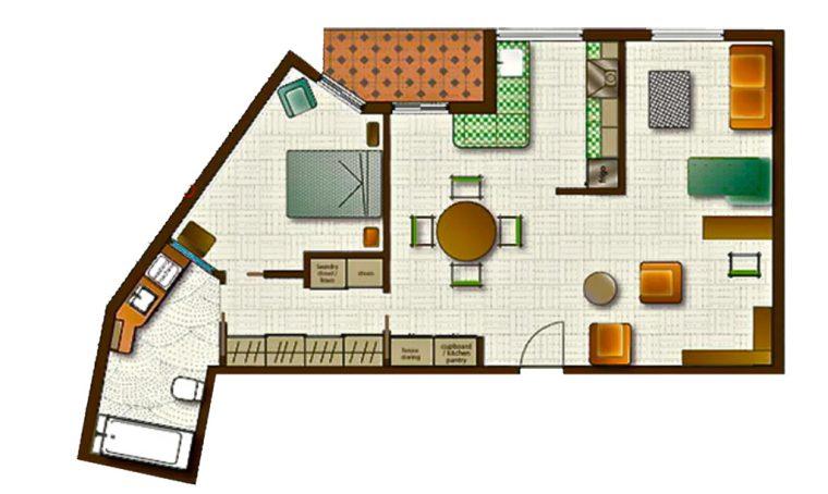 Pavimenti e pareti multifunzione in tutta la casa