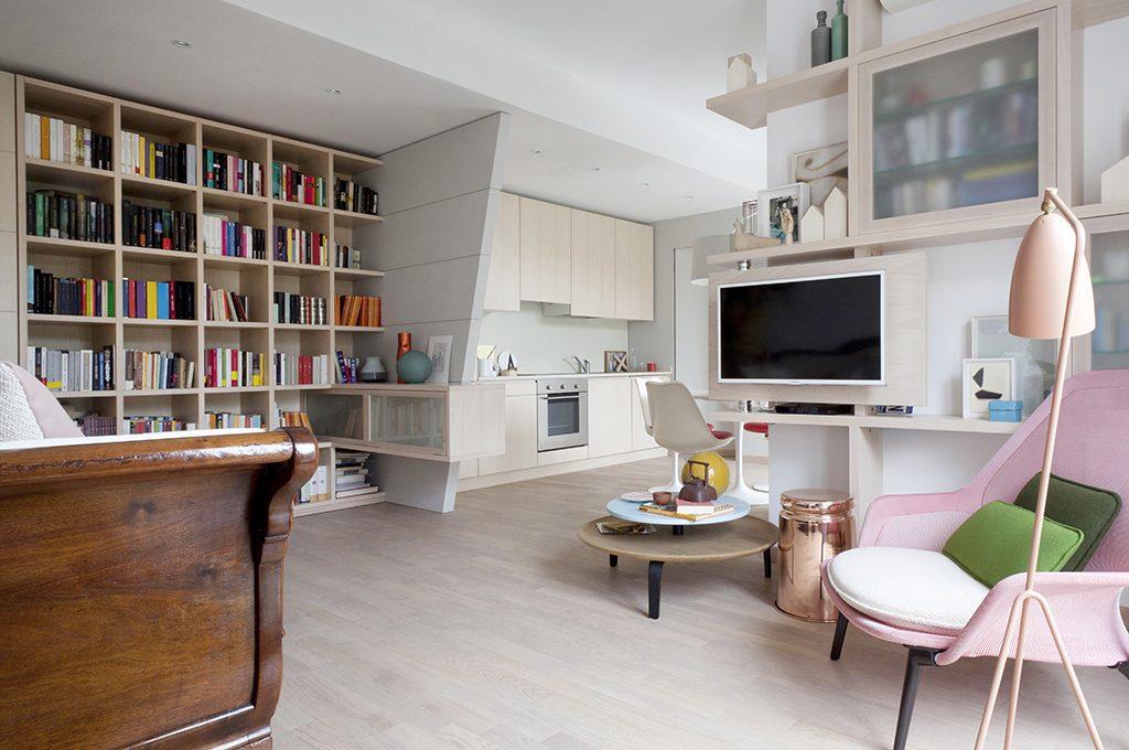 open space: come dividere cucina e soggiorno - casafacile - Living Soggiorno Cucina