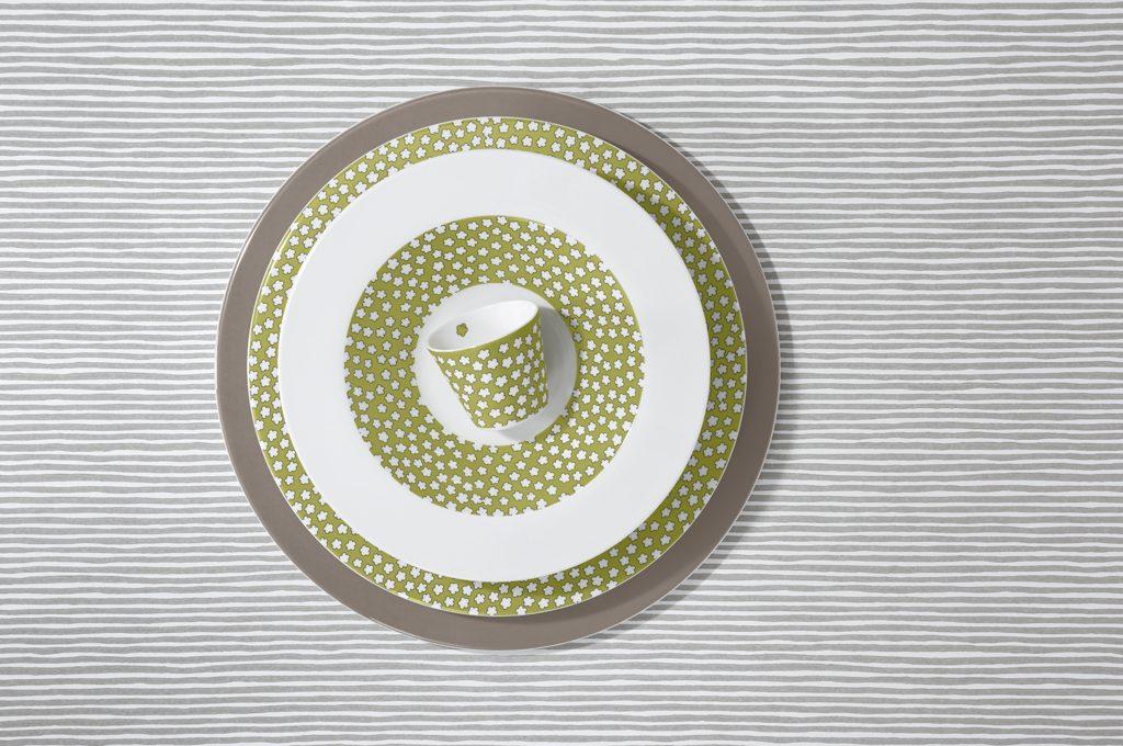 Piatti in porcellana per la tavola di primavera - CASAfacile