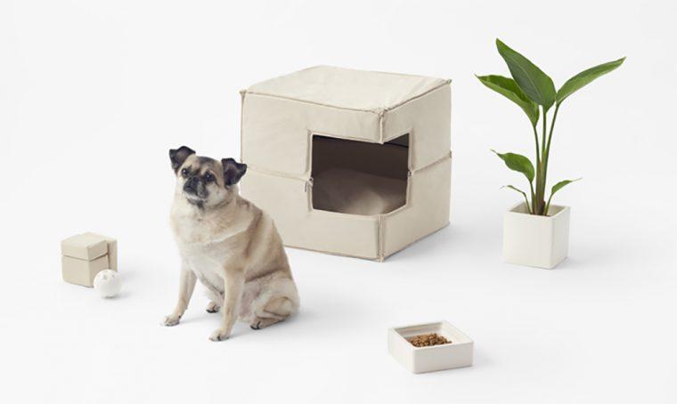 Nendo ha creato cucce e ciotole di design per cani