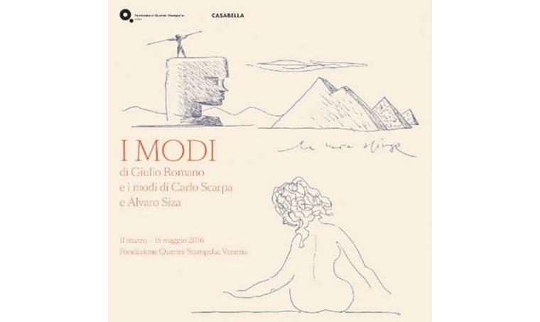 A Venezia la mostra 'I modi' di Giulio Romano, Carlo Scarpa e Álvaro Siza
