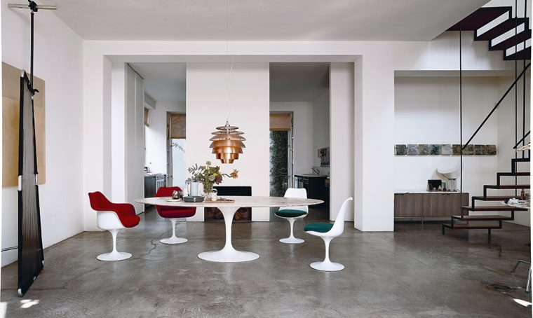 Icone del design: il tavolo Tulip