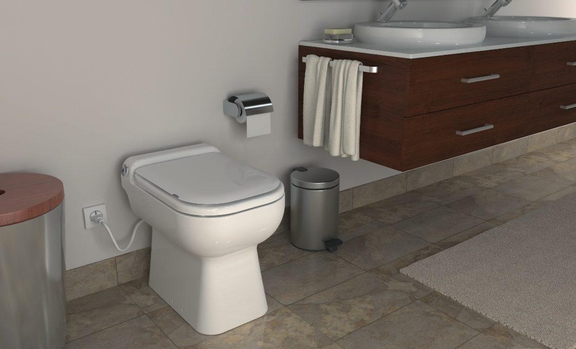 Bagno In Camera Senza Scarico : Sanicompact di sanitrit il wc che crea un bagno nuovo e super