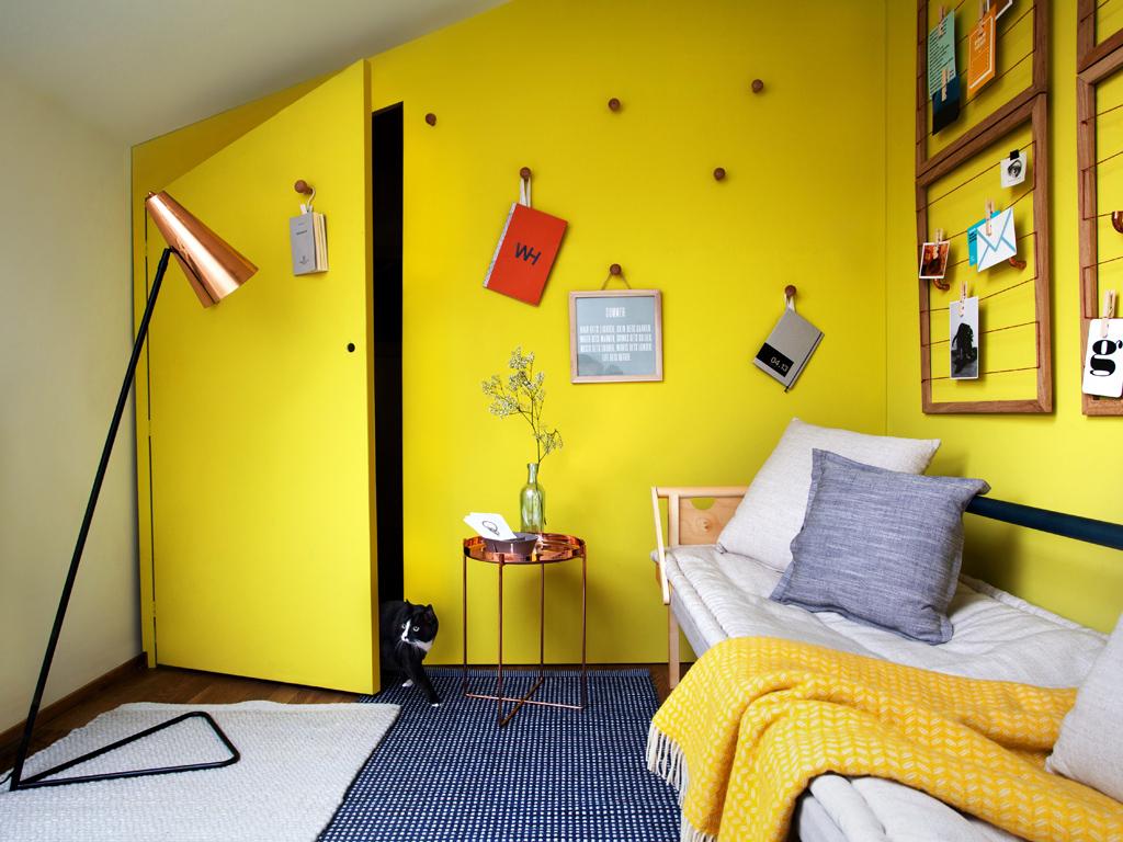 La stanza due in uno camera degli ospiti e lavanderia for Stanza degli ospiti