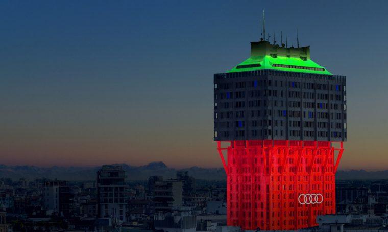 Ingo Maurer illumina la Torre Velasca