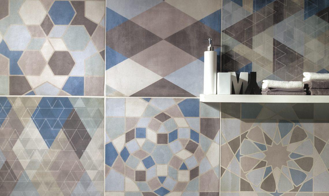 Cementine e piastrelle geometriche casafacile