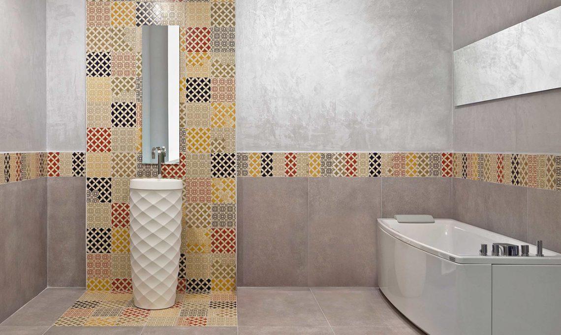 Cementine e piastrelle geometriche casafacile for Piastrelle 25x25