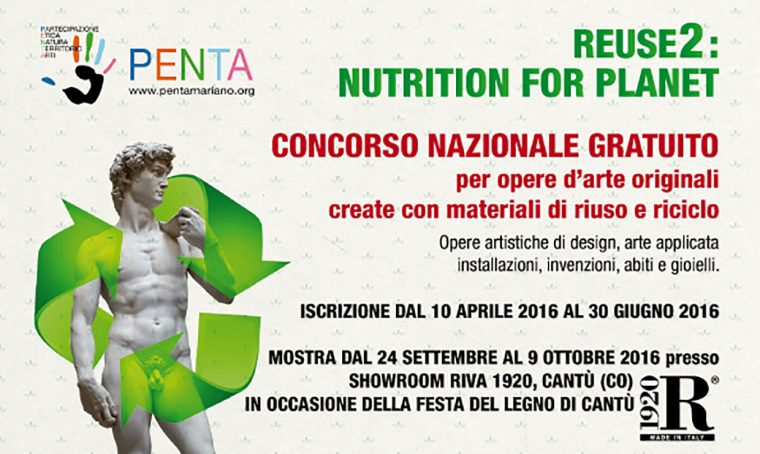Concorso Reuse2: Nutrition for Planet