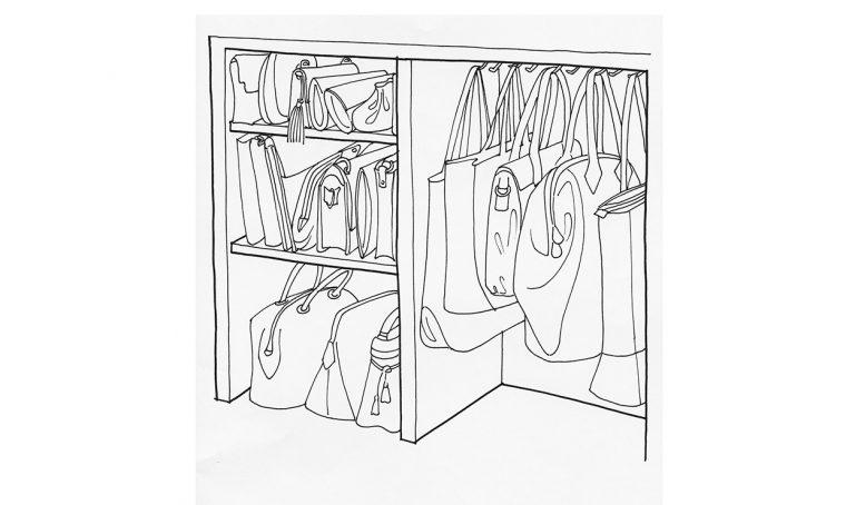 Guardaroba: come tenere in ordine le borse