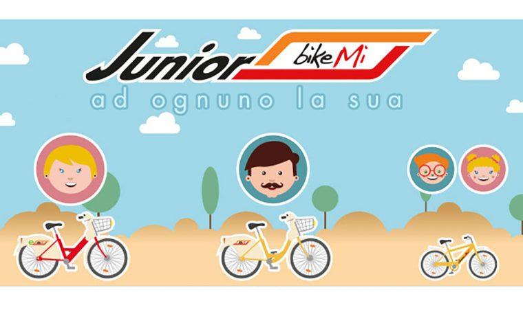 BikeMi: arrivano le bici anche per i bambini