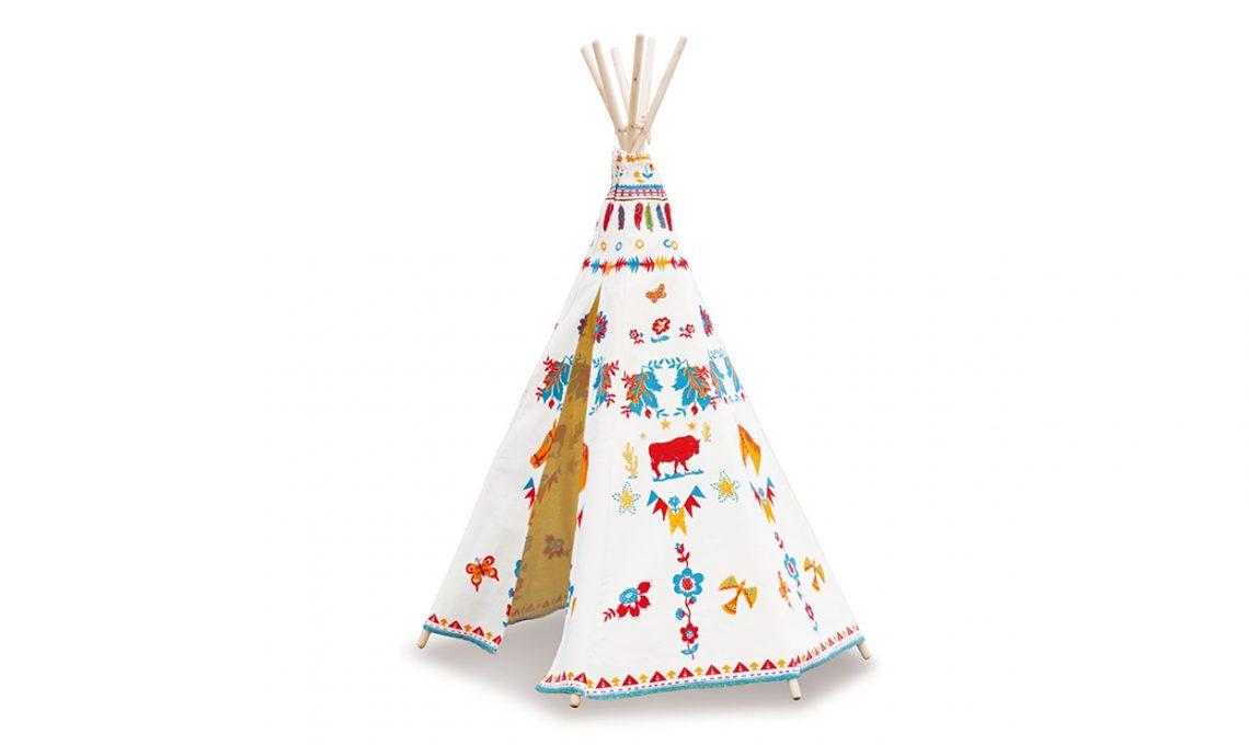 Inizio Tenda Indiani Bambini Immagine Di Tenda Stile