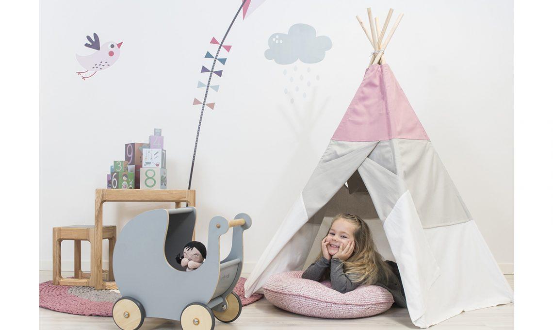 Tende per bambini le teepee casafacile - Tenda doccia fai da te ...