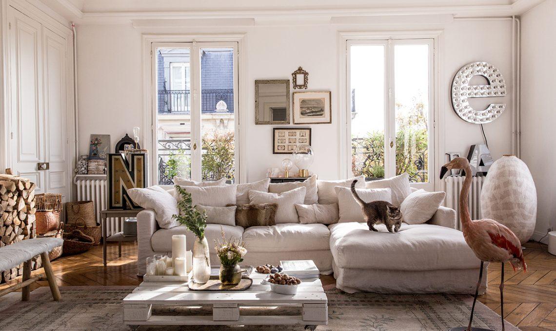 Il divano realizzato con i pallet e tante altre idee per for Arredare casa in bianco