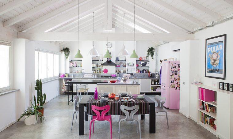 Prima&Dopo: il loft diventa casa e studio creativo