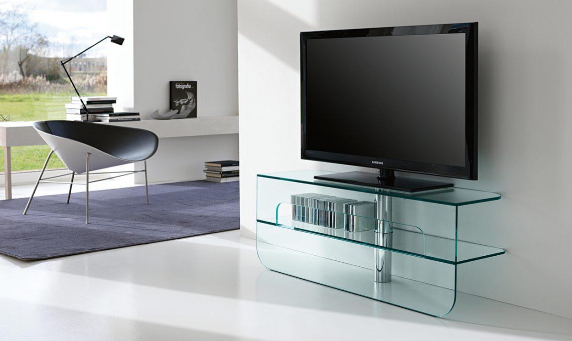 Mobili e soluzioni porta tv casafacile - Mobili porta tv in vetro ...