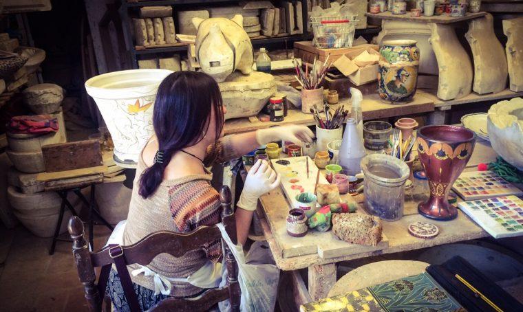 La ceramica 'invade' l'Italia