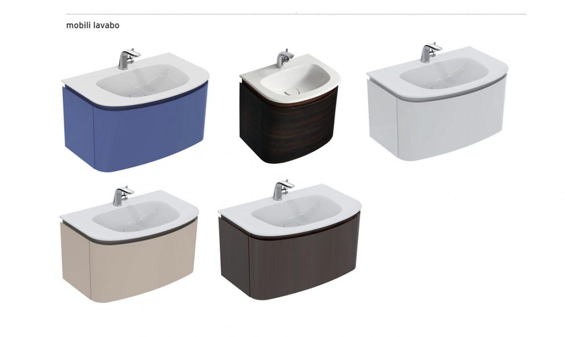 Mobile Bagno Doppio Lavabo Ideal Standard. Mobile Lavandino Mobile ...
