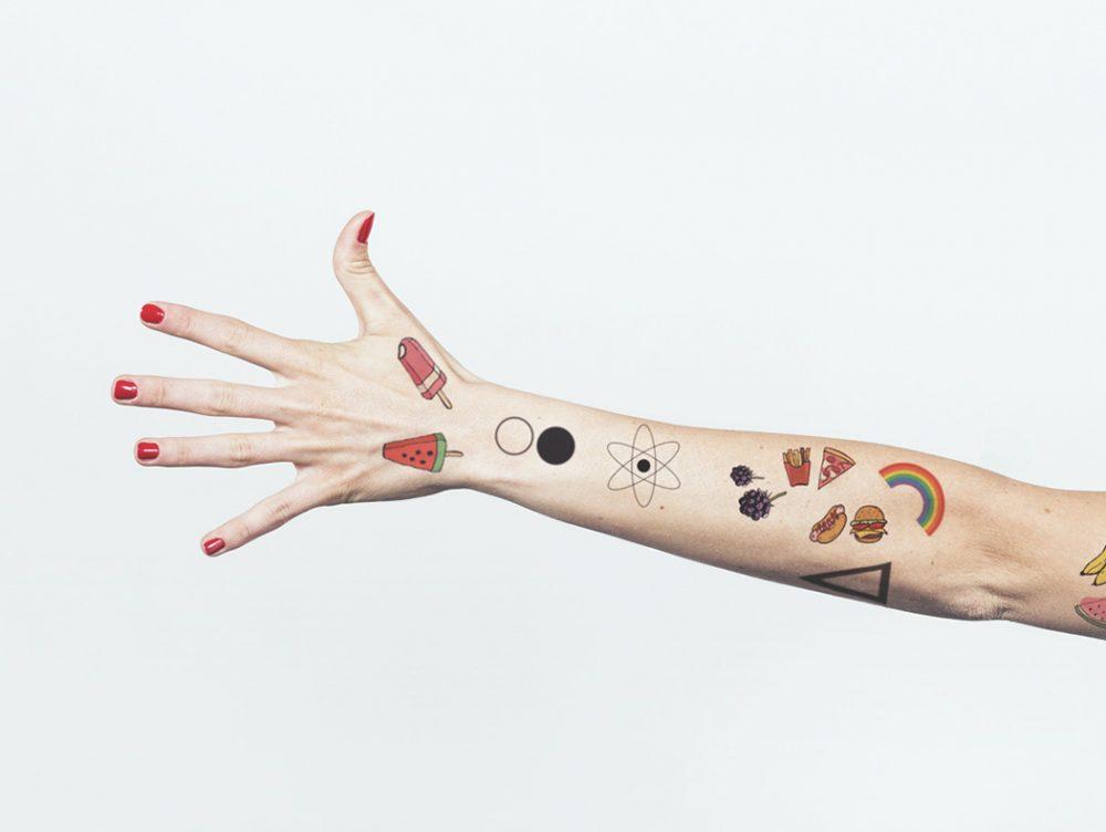 Idee décor… per la pelle! Tatuaggi temporanei personalizzati
