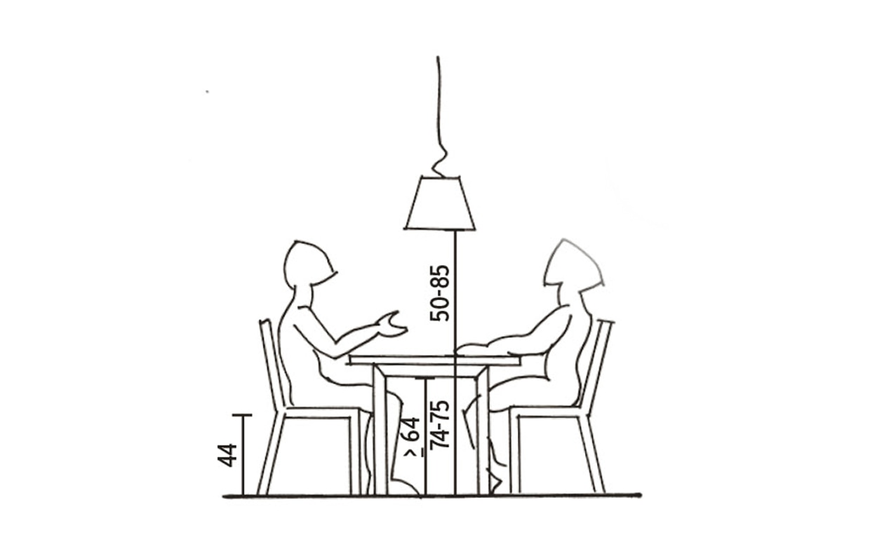 Dimensioni Tavolo Quadrato Per 4 Persone.L Altezza Giusta Per Il Tavolo Da Pranzo Casafacile