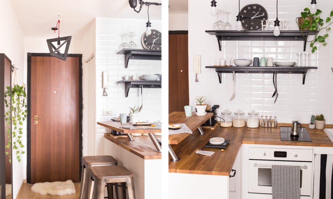 Come arredare una mansarda di 23 mq casafacile - Arredare cucina 4 mq ...