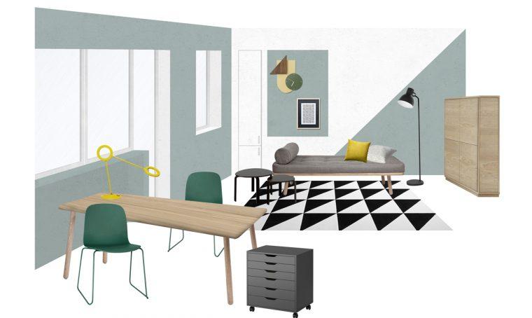 Riorganizzare la camera studio: i consigli delle stylist