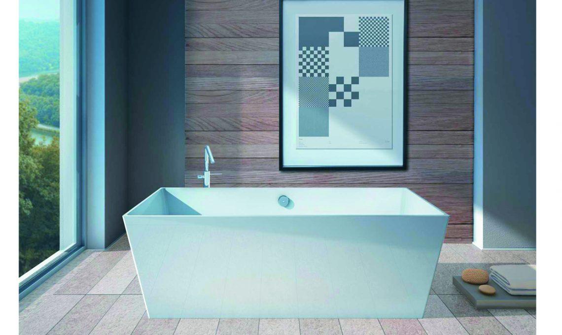 14 vasche da bagno freestanding casafacile - Piastrelle sottili leroy merlin ...