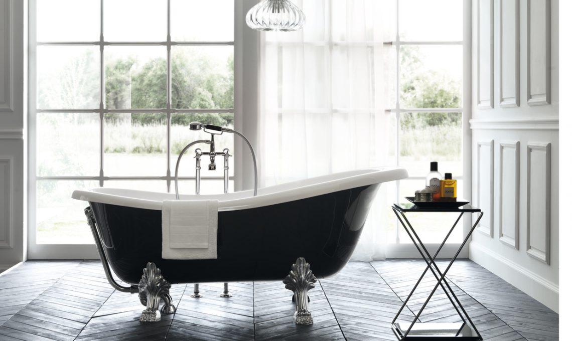 14 vasche da bagno freestanding casafacile - Vasca da bagno con i piedi ...