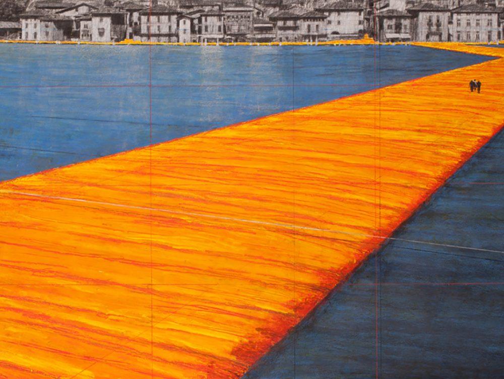 Floating piers: l'installazione di Christo sul lago d'Iseo
