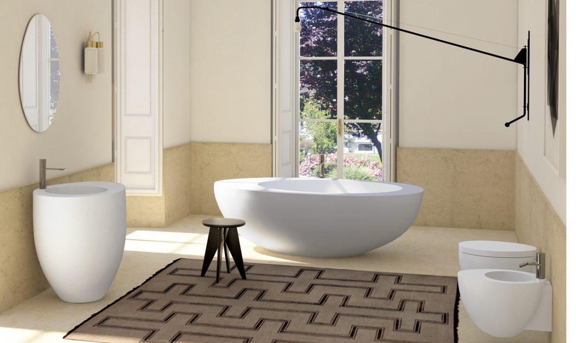 Vasca Da Bagno Dimensioni Minime : Vasche da bagno freestanding casafacile