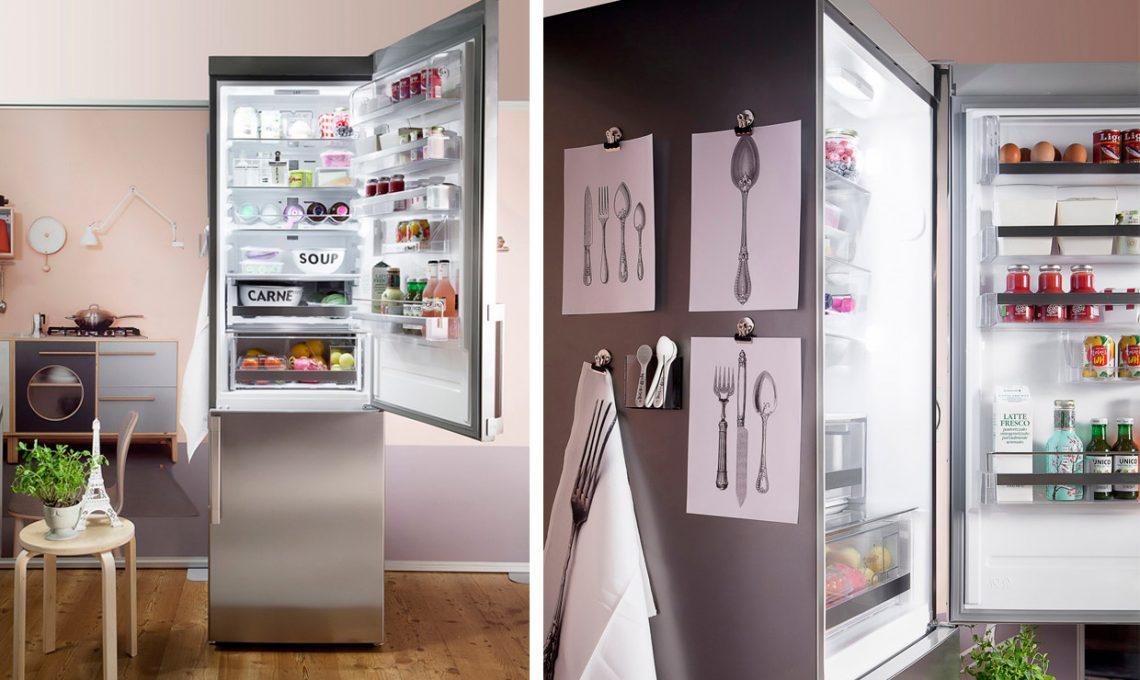 Idee Arredo Cucina Soggiorno : Come organizzare il tuo frigorifero e conservare