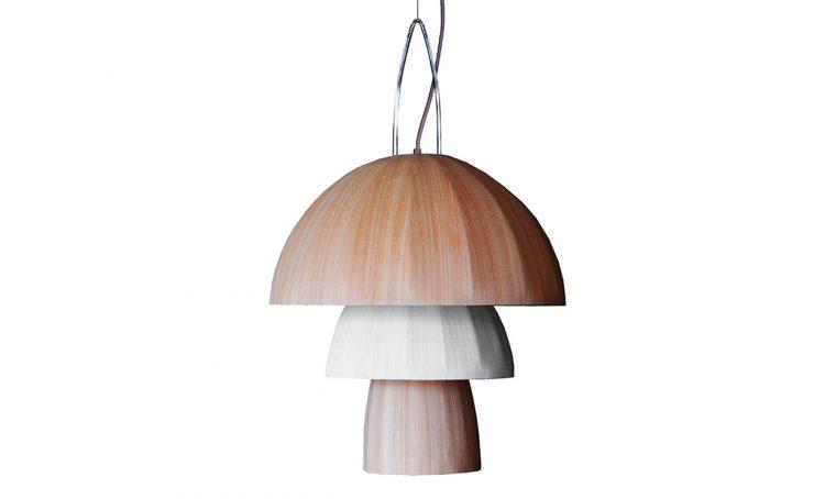 10 lampade di legno